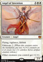 Kaladesh Foil: Angel of Invention