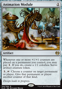 Kaladesh Foil: Animation Module