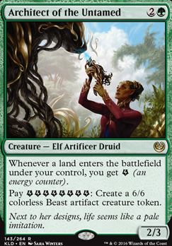 Kaladesh: Architect of the Untamed