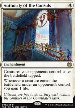 Kaladesh Foil: Authority of the Consuls