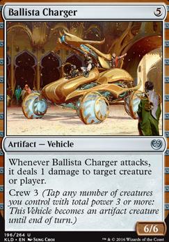 Kaladesh Foil: Ballista Charger