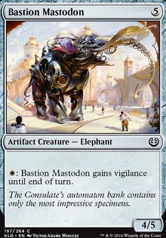 Kaladesh: Bastion Mastodon