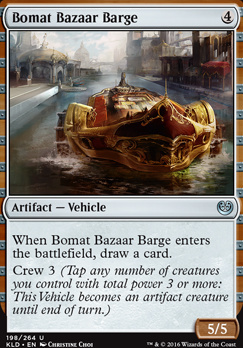 Kaladesh Foil: Bomat Bazaar Barge
