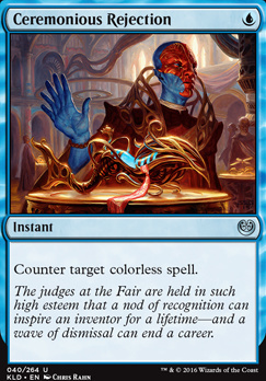 Kaladesh Foil: Ceremonious Rejection