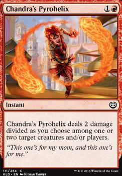Kaladesh: Chandra's Pyrohelix