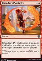 Kaladesh Foil: Chandra's Pyrohelix