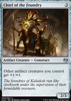 Kaladesh Foil: Chief of the Foundry