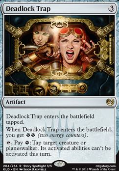 Kaladesh Foil: Deadlock Trap