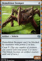 Kaladesh Foil: Demolition Stomper