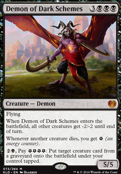 Kaladesh Foil: Demon of Dark Schemes