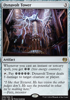 Kaladesh Foil: Dynavolt Tower