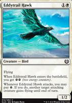 Kaladesh Foil: Eddytrail Hawk