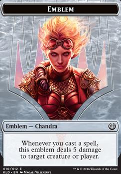 Kaladesh: Emblem (Chandra, Torch of Defiance)