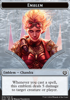 Kaladesh: Emblem (Chandra, Torch of Defiance)