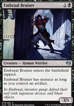 Kaladesh Foil: Embraal Bruiser