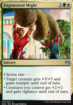 Kaladesh Foil: Engineered Might