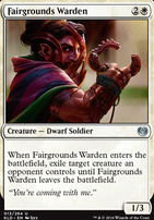 Kaladesh Foil: Fairgrounds Warden