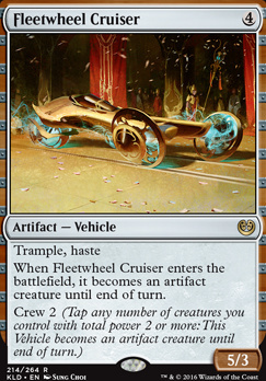 Kaladesh: Fleetwheel Cruiser