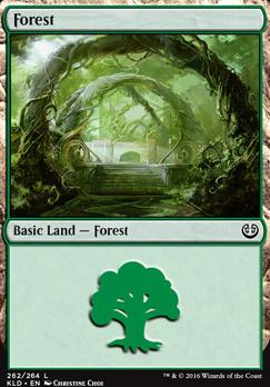 Kaladesh: Forest (262 A)