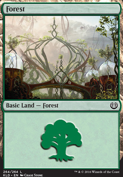 Kaladesh Foil: Forest (264 C)