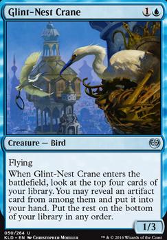 Kaladesh Foil: Glint-Nest Crane