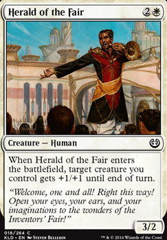 Kaladesh Foil: Herald of the Fair
