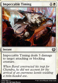 Kaladesh: Impeccable Timing