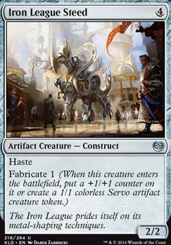 Kaladesh Foil: Iron League Steed