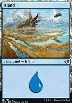 Kaladesh Foil: Island (253 A)
