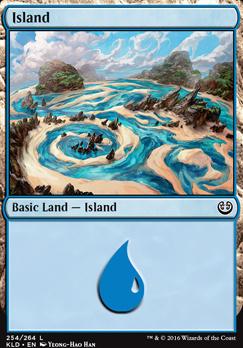 Kaladesh Foil: Island (254 B)