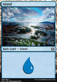 Kaladesh Foil: Island (255 C)