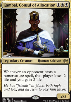 Kaladesh: Kambal, Consul of Allocation