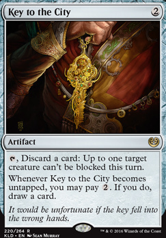Kaladesh Foil: Key to the City