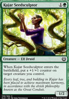 Kaladesh Foil: Kujar Seedsculptor