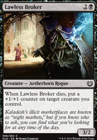 Kaladesh Foil: Lawless Broker