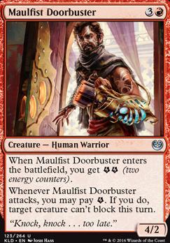Kaladesh Foil: Maulfist Doorbuster