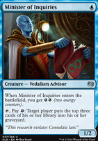 Kaladesh: Minister of Inquiries