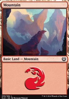 Kaladesh Foil: Mountain (259 A)