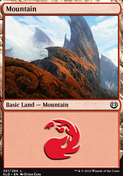 Kaladesh Foil: Mountain (261 C)