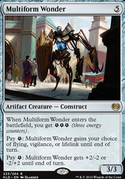 Kaladesh Foil: Multiform Wonder