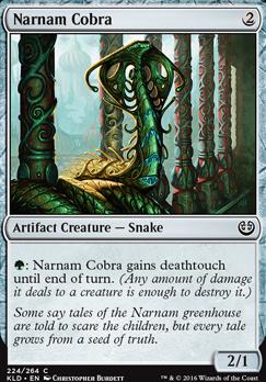 Kaladesh Foil: Narnam Cobra