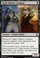 Kaladesh Foil: Night Market Lookout