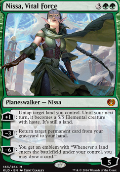 Kaladesh: Nissa, Vital Force