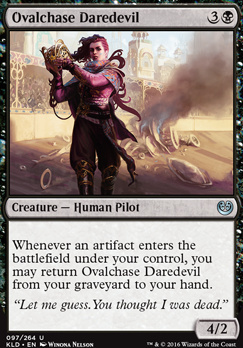 Kaladesh Foil: Ovalchase Daredevil