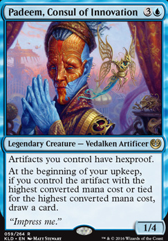 Kaladesh: Padeem, Consul of Innovation