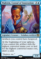 Kaladesh Foil: Padeem, Consul of Innovation