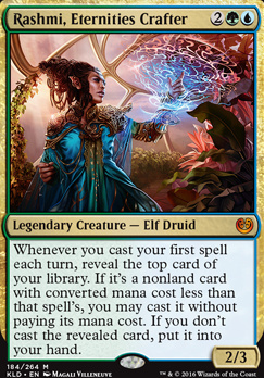 Kaladesh Foil: Rashmi, Eternities Crafter