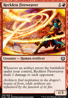 Kaladesh Foil: Reckless Fireweaver