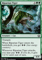 Kaladesh: Riparian Tiger
