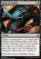 Kaladesh Foil: Rush of Vitality